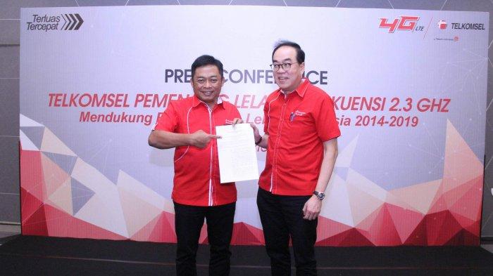 Telkomsel Raih Tambahan Spektrum di Frekuensi 2,3 GHz, Mendukung Ekosistem Digital di Indonesia