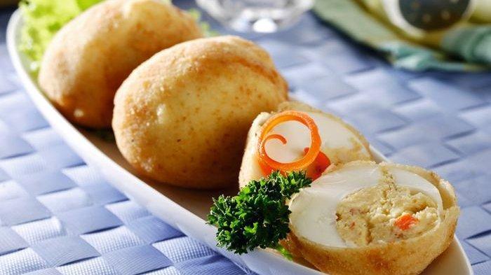Telur Isi Goreng Tepung Pilihan Olahan Telur Rebus Jadi Hidangan yang Nikmat