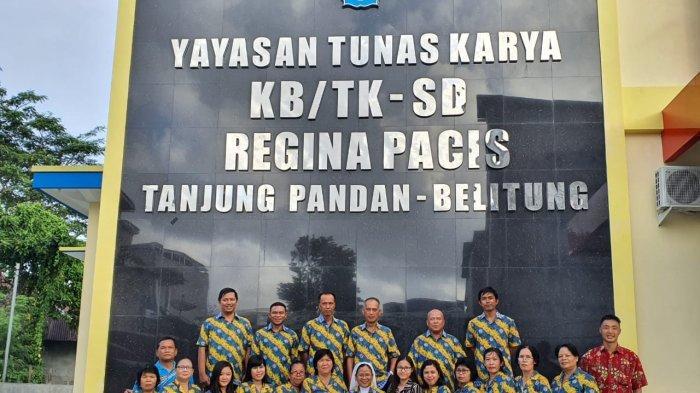 SD Regina Pacis Lakukan PPDB Daring dan Luring