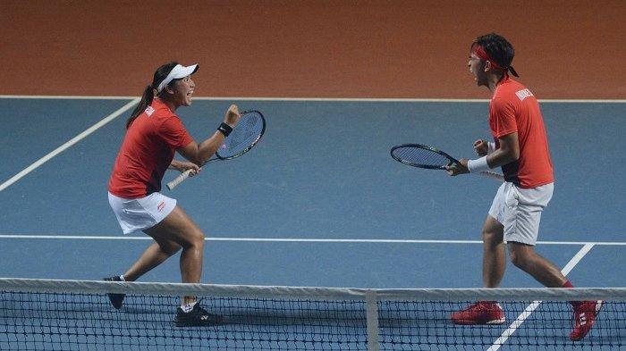Tenis Ganda Campuran Indonesia Melaju ke Semifinal