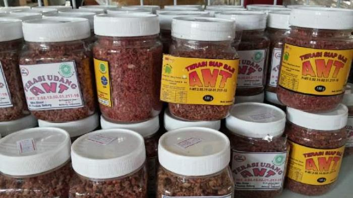 WOW! 1,5 Ton Terasi Udang ANT Belitung Ludes Terjual dalam Dua Minggu