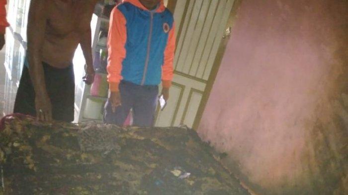 Rumah Terbakar, Kasur pun Ludes Dilalap Api