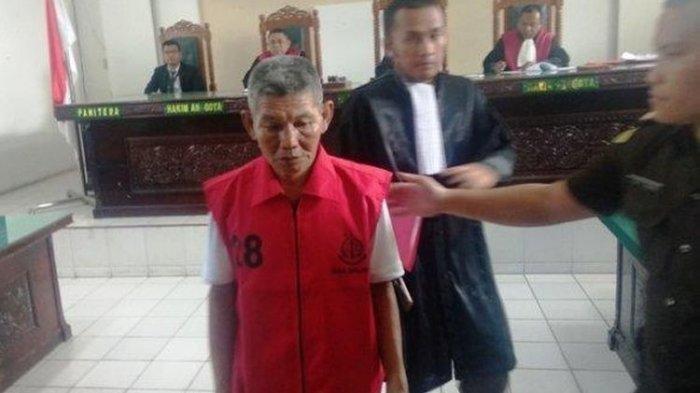 Kakek 67 Tahun Divonis 2 Bulan Penjara Curi Getah Karet Rp 17 Ribu, Tangis Istri Pecah
