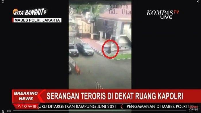 BREAKING NEWS: Mabes Polri Diserang Teroris Tepat di Depan Ruang Kapolri, Pelaku Tewas Ditembak