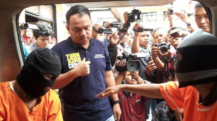 Komplotan Pencuri Modus Gembos Ban Asal Palembang Ditembak Polisi