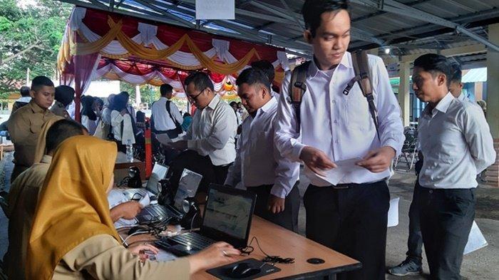 Tiga Peserta Seleksi SKD CPNS Belitung Timur Tidak Hadir Pada Sesi Pertama di Hari Pertama