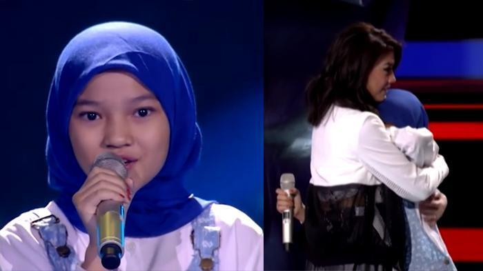 (VIDEO) Suara Finalis The Voice Kids Indonesia Ini Bikin Penonton Menangis