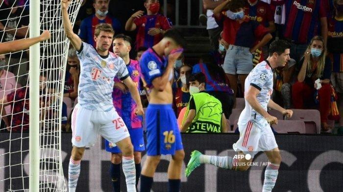 Barcelona Dibuat Malu Bayern Munchen, Kalah 0-3 Dikandang Sendiri, Ini Hasil Lengkap Liga Champions