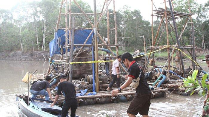 Tebat Rasau Tandus, BP Geopark Belitong hingga Pegiat Lingkungan Kompak Soal TI Ilegal di Sungai