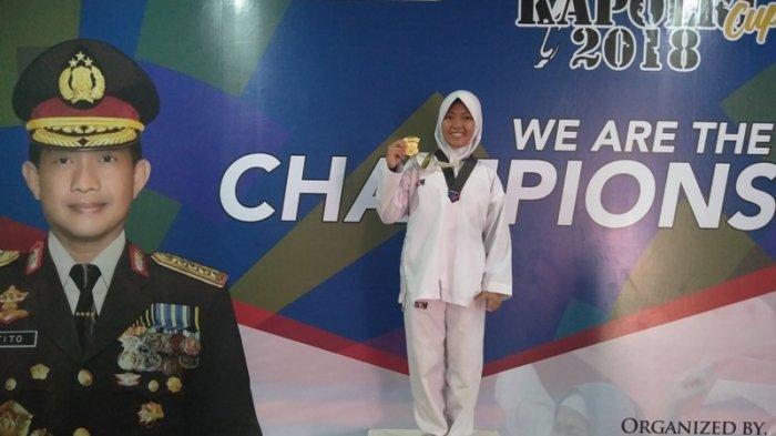 Tiger Taekwondo Club Belitung Sabet Emas di Nomor Kyorugi Pemula