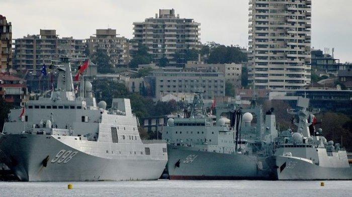 Perdana Menteri Sampai Turun Tangan,  Ketika 3 Kapal Perang China Kejutkan Warga Sydney di Pagi Hari