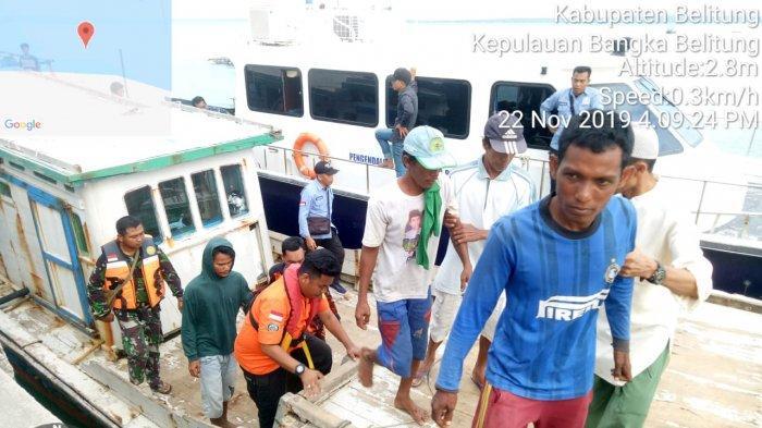 Tiga Nelayan Pulau Seliu Akhirnya Ditemukan dalam Kondisi Selamat