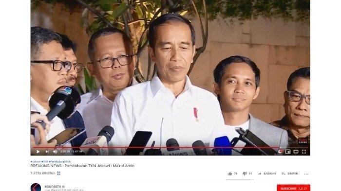 TKN Resmi Bubar, Jokowi: Terima Kasih Kerja Keras Pagi Siang Malam