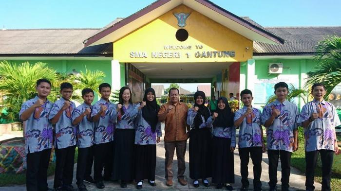 SMAN 1 Gantung Juara Umum OSN Bangka Belitung