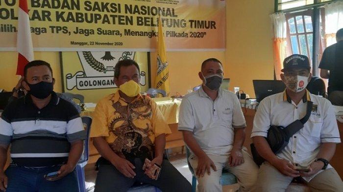 Hasil Sementara Pilkada Belitung Timur, Tim Pemenangan Berakar Sudah Merekap 70 Persen Suara