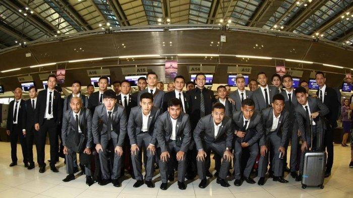 Timnas Thailand Pamerkan Gaya Baru Ala The Jakmania