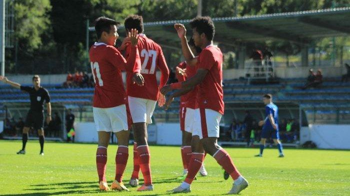 VIDEO 4 Gol Timnas U-19 Indonesia saat Kalahkan Pemuncak Klasemen Liga U-19 Kroasia
