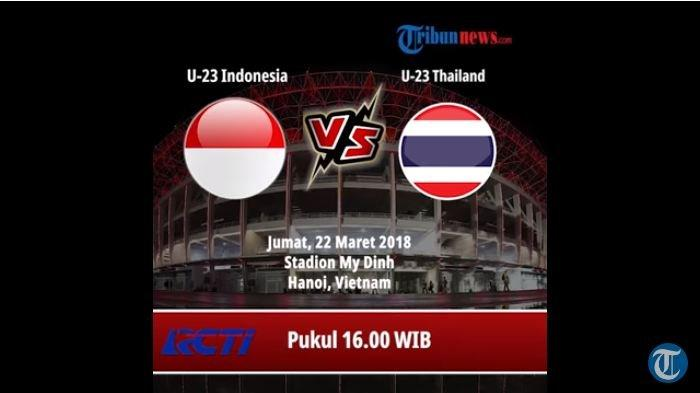 Indra Sjafri Matangkan Taktik Permainan Jelang Hadapi Thailand di Kualifikasi Piala AFC U-23 2020
