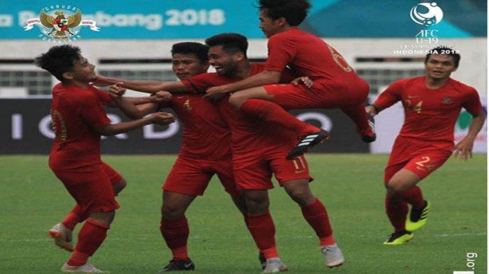 Jelang Piala AFC U19 2018, Timnas Indonesia Jajal Jordania, Ini Jadwal dan Harga Tiket Nonton