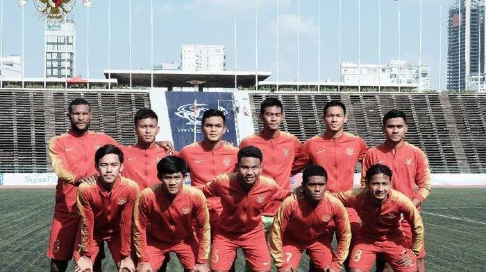 LNK LIve Streaming Timnas U22 Indonesia vs Kamboja, Garuda Muda Harus Menang
