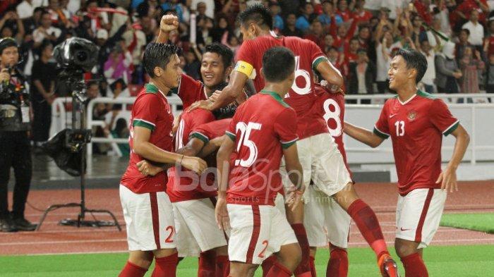 Timnas Indonesia Kalahkan Mauritius Berkat Gol Evan Dimas
