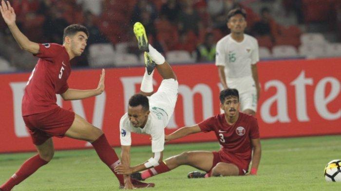 AFC Menilai Laga Timnas U-19 Indonesia Vs Qatar Drama Penuh Kekacauan