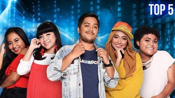LIVE Streaming Top 5 Indonesian Idol 2018 Kolaborasi Milenial Malam Ini