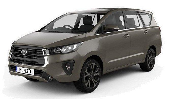 Penampakan Toyota Kijang Innova facelift