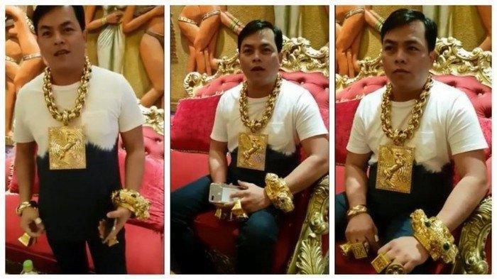 Inilah Crazy Rich Vietnam, Pria ini Selalu Membawa 13 Kg Emas Kemanapun Dia Pergi