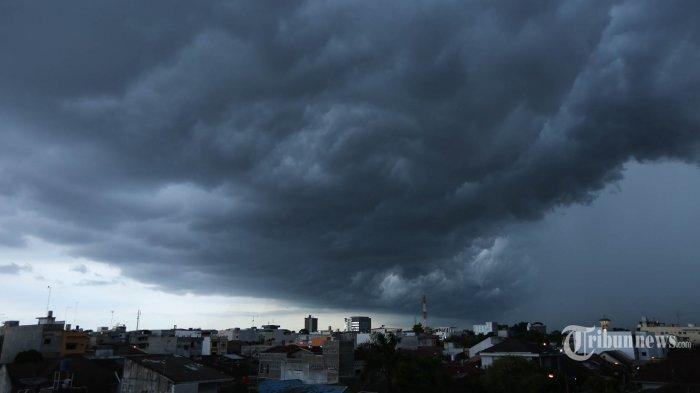 Waspada Cuaca Ekstrem Minggu (19/1/2020), Ada Belokan Angin di Bangka Belitung