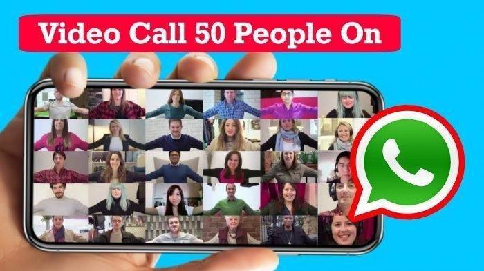 Terbaru dari WhatsApp, Bisa Video Call 50 Orang Sekaligus, Begini Caranya Login Lewat Facebook Dulu