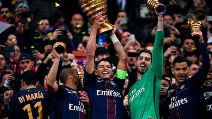 Tekuk Monaco 4-1, PSG Rengkuh Trofi Piala Liga Perancis 4 Kali Beruntun