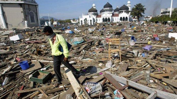 Muncul Kabar Tsunami Aceh 17 Tahun Silam Konspirasi Amerika Serikat, Benarkah?