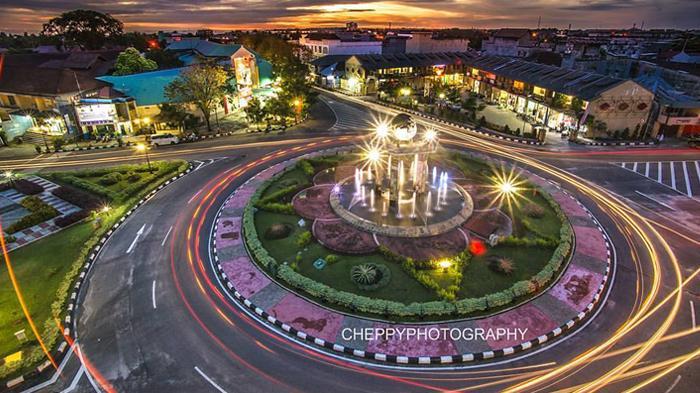 Ini Foto Pusat Kota Tanjungpandan yang Bikin Netizen Belitong Terkagum-kagum