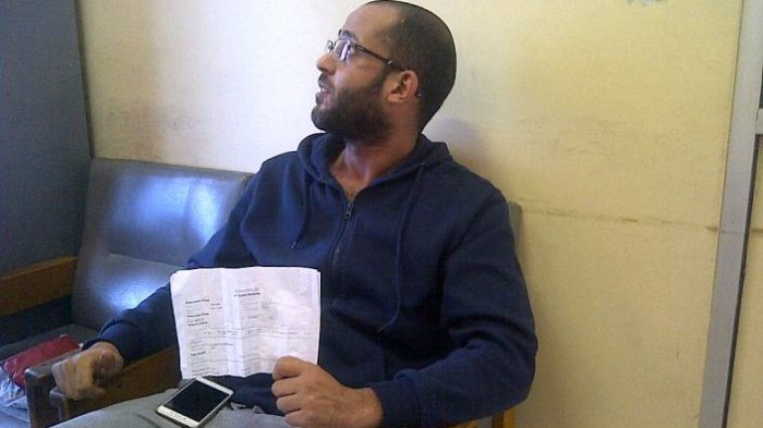 Buser dan Imigrasi Amankan WN Tunisia di Bandara H AS Hanandjoeddin Tanjungpandan