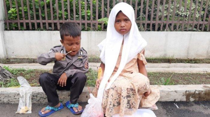 Kisah Dua Anak Yatim Jualan Bakpao Keliling untuk Jajan, Ayahnya Meninggal Dunia Tertabrak Kereta