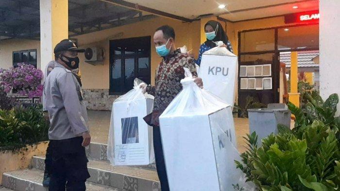 Logistik Pilkada Belitung Timur 2020 Mulai Bergeser ke Gudang KPU Beltim
