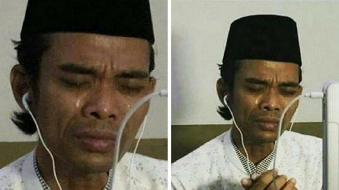 Ustaz Abdul SomadMenangis & Gebrak Meja saat Jawab Pertanyaan Jamaah, Ternyata Ini Alasannya