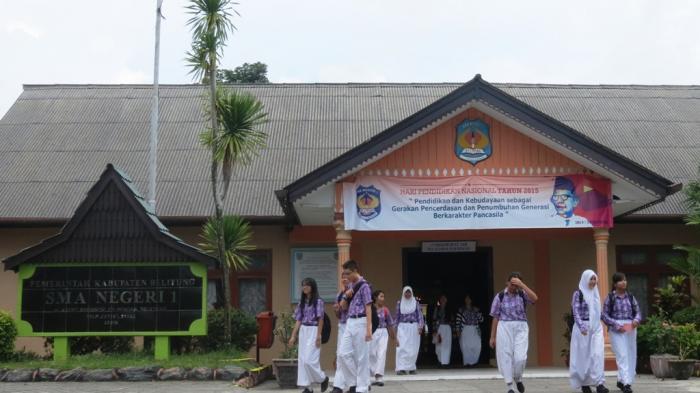 Tarik Ulur Kebijakan, SMAN 1 Tanjungpandan Belum Terapkan Full Day School