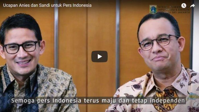 Hasil Survei Median, Anies Baswedan dan Sandiaga Uno Calon Kuat Presiden 2024 Jika Tanpa Prabowo