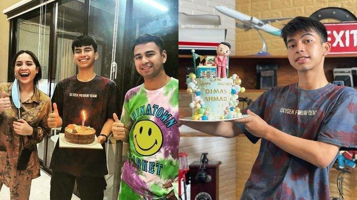 Ulang Tahun, Dimas Ramadhan Dapat Hadiah Barang Mewah dari Nagita Slavina, Raffi Ahmad Protes