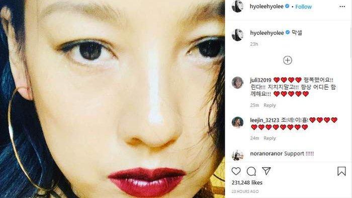 Pamer Selfie Terakhir di Instagram, Lee Hyori Dapat Banyak Pesan Cinta dari Sahabat