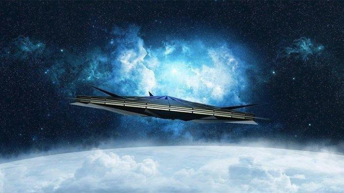 Publik Inggris Geger, Sinar Putih yang Diduga UFO Muncul di Langit Torquay: Bergerak Sangat Cepat