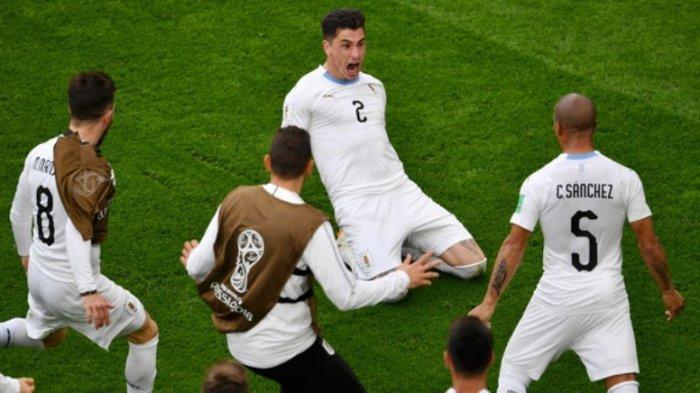 Mohamed Salah Tak Tampil, Mesir Dikalahkan Uruguay, Gol Kemenangan Tercipta Dimenit-menit Akhir