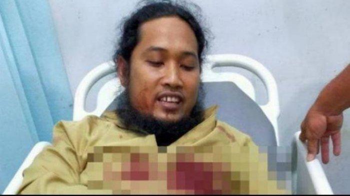 Ustaz Ditusuk saat Sedang Ceramah, PelakuMantan Polisi Pura-Pura Bingung saat Ditangkap