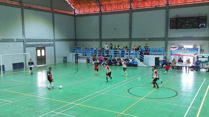 Dinas Pendidikan Juarai Futsal Korpri Beltim 2020