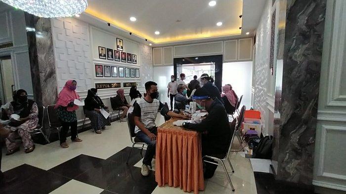 DPRD Belitung Gelar Vaksinasi Covid-19