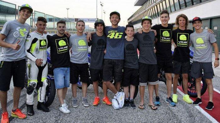 Hadapi Wabah Covid-19, Valentino Rossi Terapkan Aturan Baru di Akademi Balapnya