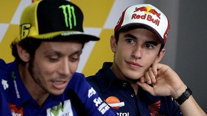 Ungkap Alasannya Tolak Permintaan Maaf Marquez, Rossi: Dia Harus Menjauh dan Tak Melihatku