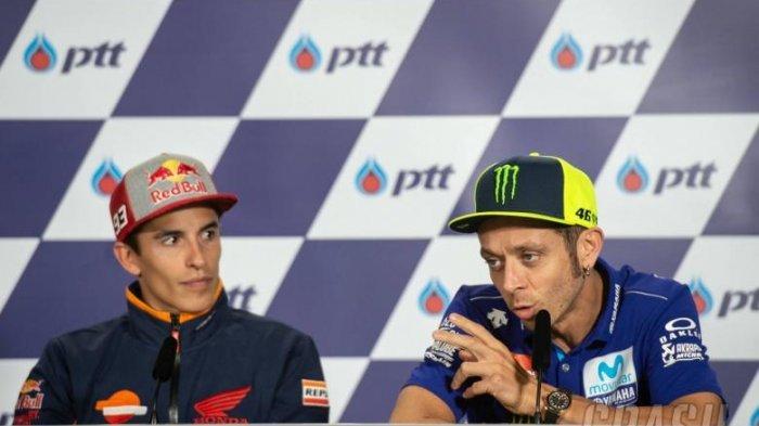 Marc Marquez Tunjukkan Dominasinya di MotoGP, Begini Tanggapan Valentino Rossi